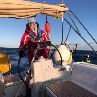 Angehende FB2-Skipperin
