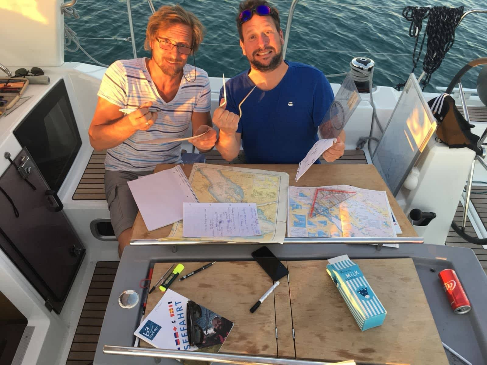 Theorie & Praxis an Bord