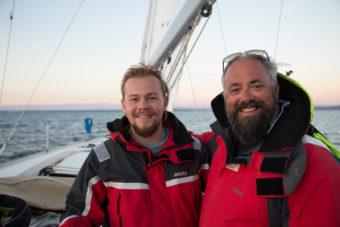 Skippertraining mit Klemens, Alex